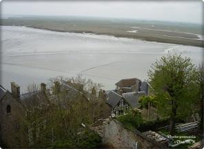Blick von Mont St Michel