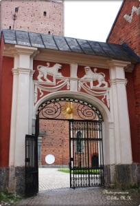 ein Tor zum Dom zu Strängnäs