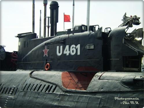 U-461- in Peenemünde