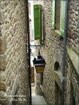 Gasse in Mont St Michel