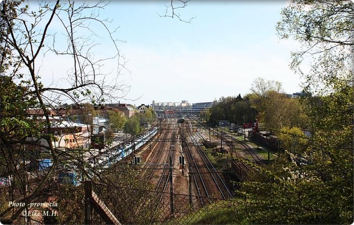 Blick von Brücke