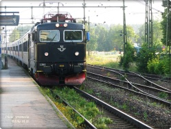 Richtung Uppsala-Stockholm