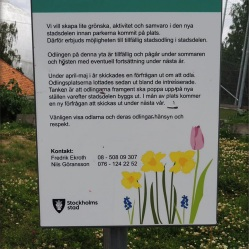 Ropsten Statdteil in Stockholm