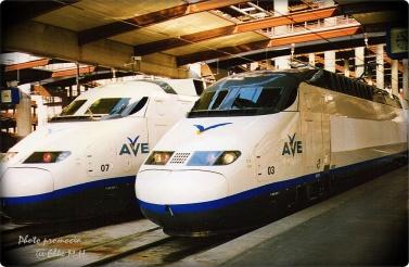 Madrid Atoche 1993 (meine erste Fahrt mit AVE)
