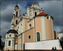 Villnius-eine der vielen Kirchen