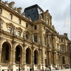 Le musée du Louvre- palais du Louvre