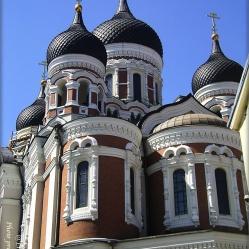 Die Alexander-Newski-Kathedrale-in Tallin