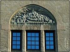 über den Fenster- Alt Stockholm