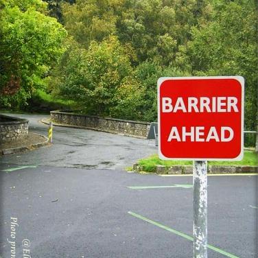Schild in Irland