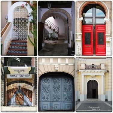 Türen in Europa- Mallorca/Rotterdam/London / Villnius