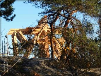 Anfang-Bau des neuen Glockenturm