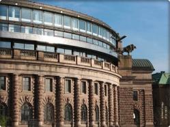 Teile des Regierungs Gebäude